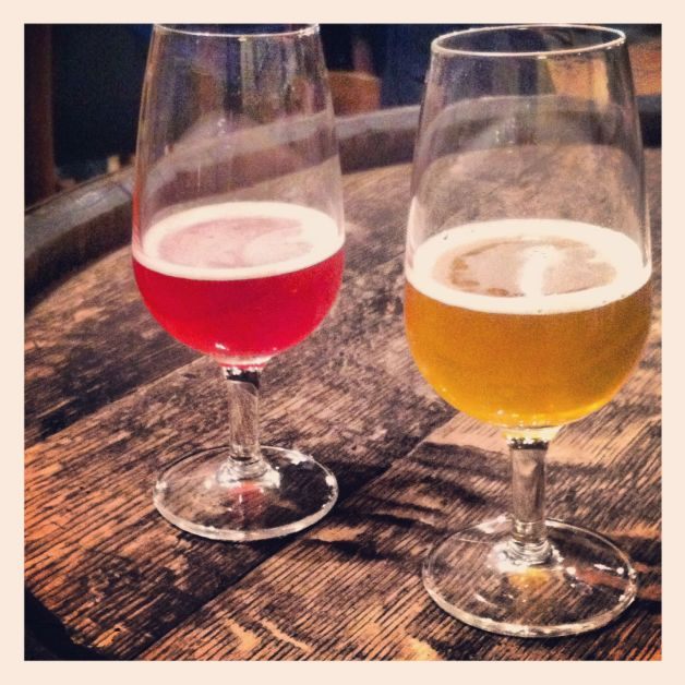 Kriek and Gueuze